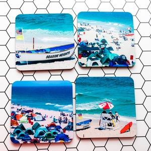 Other - Jersey Shore Coasters, Set of 4.